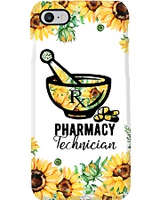 Pharmacy Technician Sunflower Phone Case i-phone-7-case