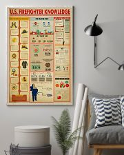 US Firefighter Knowledge 11x17 Poster lifestyle-poster-1