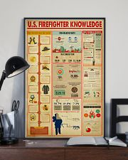 US Firefighter Knowledge 11x17 Poster lifestyle-poster-2