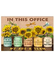 OT In This Office We Are A Team 17x11 Poster front