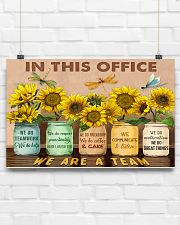 OT In This Office We Are A Team 17x11 Poster poster-landscape-17x11-lifestyle-17