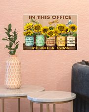 OT In This Office We Are A Team 17x11 Poster poster-landscape-17x11-lifestyle-21