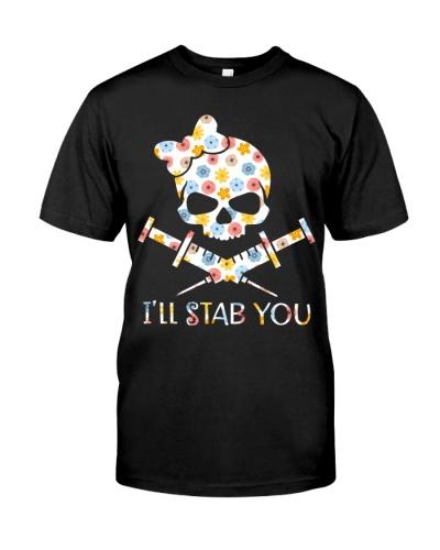 Phlebotomist I'll Stab You