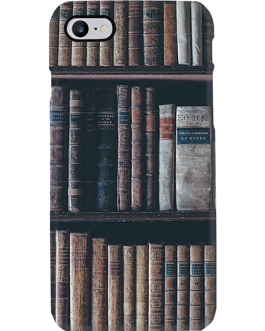 Librarian Old Bookshelf Phone Case