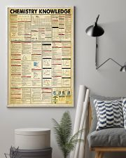 Chemistry Knowledge Chemist 11x17 Poster lifestyle-poster-1