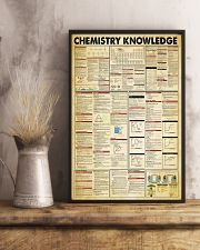 Chemistry Knowledge Chemist 11x17 Poster lifestyle-poster-3