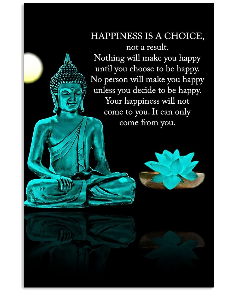 Yoga - Happiness is a choice 11x17 Poster