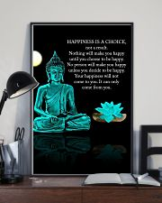 Yoga - Happiness is a choice 11x17 Poster lifestyle-poster-2