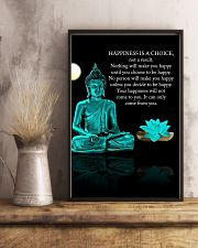 Yoga - Happiness is a choice 11x17 Poster lifestyle-poster-3