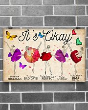 Ballet It's Okay To Make Mistakes 17x11 Poster poster-landscape-17x11-lifestyle-18