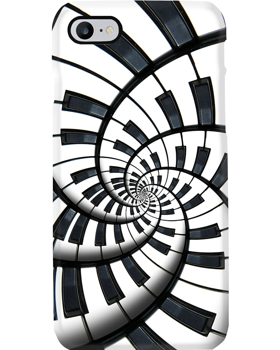 Pianist Circle Notes Phone Case