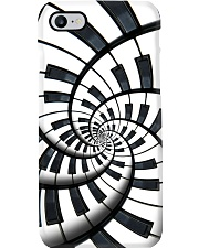 Pianist Circle Notes Phone Case i-phone-7-case