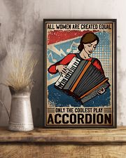 Accordion The Coolest 11x17 Poster lifestyle-poster-3