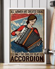 Accordion The Coolest 11x17 Poster lifestyle-poster-4