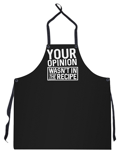 Chef - Your opinion wasn't in the recipe