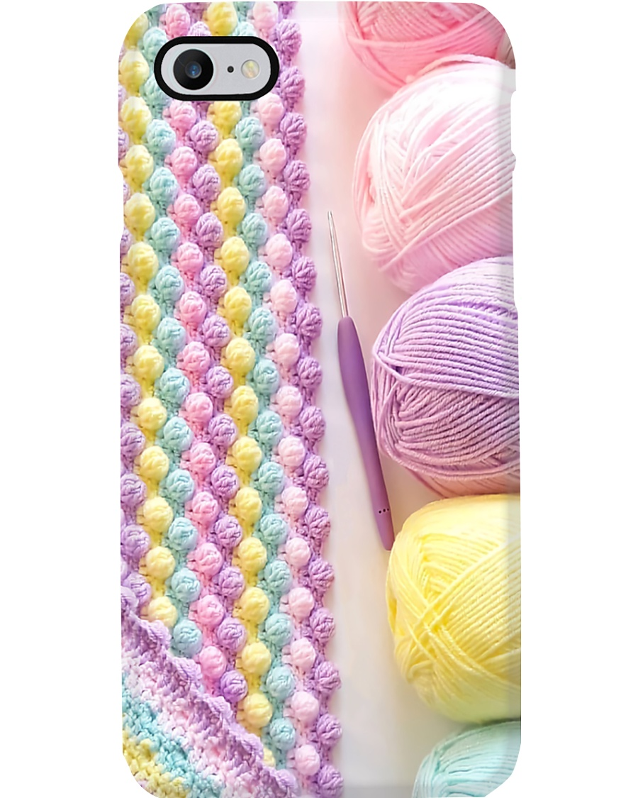 Crochet And Knitting Gift Phone Case