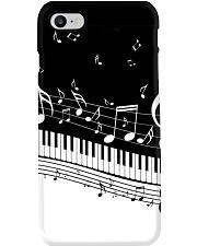 Black keys piano Phone Case thumbnail