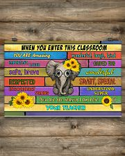 Teacher When You Enter This Classroom 17x11 Poster poster-landscape-17x11-lifestyle-14