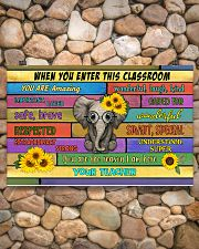 Teacher When You Enter This Classroom 17x11 Poster poster-landscape-17x11-lifestyle-15