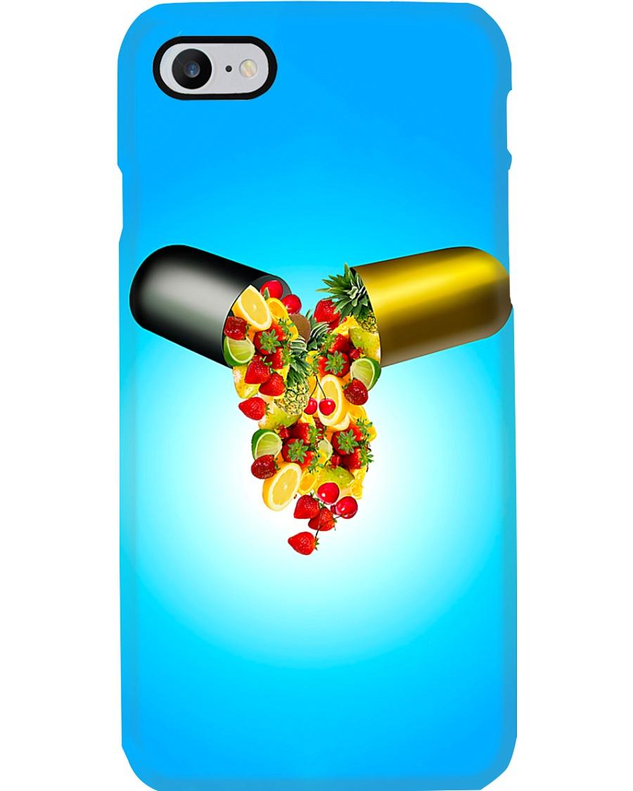 Nutrition Medicine of vegetables Phone Case