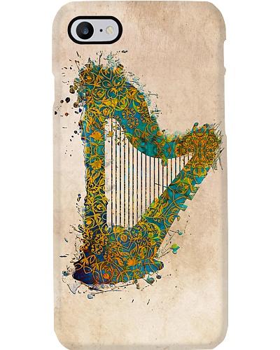 Harp Instrument Art Print
