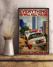 Paramedic Choose Something Fun 11x17 Poster lifestyle-poster-3