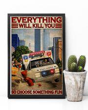 Paramedic Choose Something Fun 11x17 Poster lifestyle-poster-8