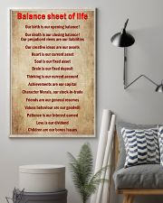 Accountant Balance sheet of life 11x17 Poster lifestyle-poster-1