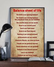 Accountant Balance sheet of life 11x17 Poster lifestyle-poster-2