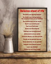 Accountant Balance sheet of life 11x17 Poster lifestyle-poster-3