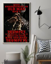 Trumpet Old Man 11x17 Poster lifestyle-poster-1