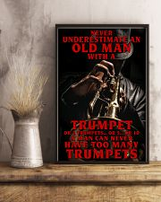 Trumpet Old Man 11x17 Poster lifestyle-poster-3