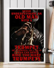 Trumpet Old Man 11x17 Poster lifestyle-poster-4
