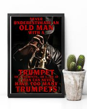 Trumpet Old Man 11x17 Poster lifestyle-poster-8