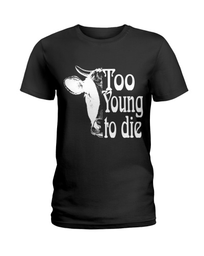 Vegan Too Young to die