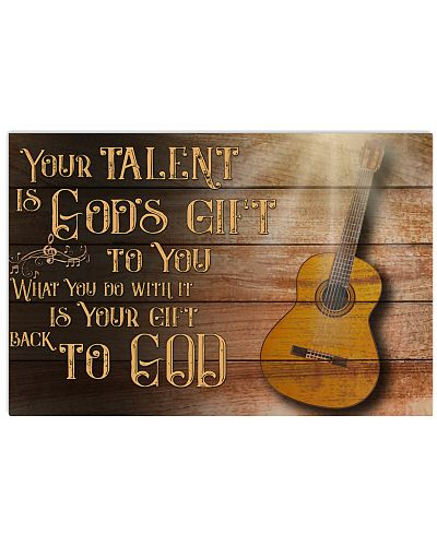 Guitarist Your Talent Is God's Gift