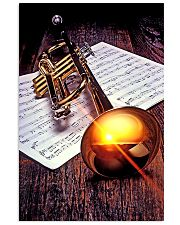 Trumpet Sunset Poster  11x17 Poster front