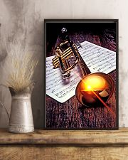Trumpet Sunset Poster  11x17 Poster lifestyle-poster-3