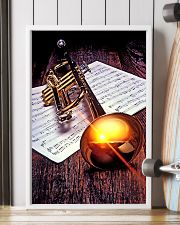 Trumpet Sunset Poster  11x17 Poster lifestyle-poster-4
