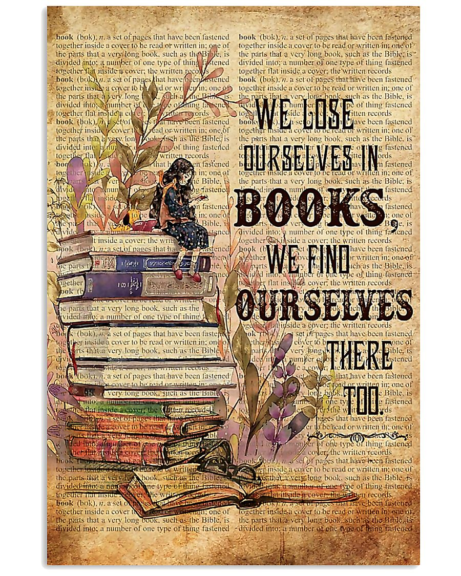 Librarian We Find Ourselves In Books Poster 11x17 Poster