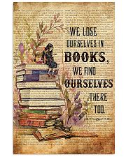Librarian We Find Ourselves In Books Poster 11x17 Poster front