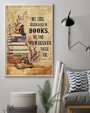 Librarian We Find Ourselves In Books Poster 11x17 Poster lifestyle-poster-1