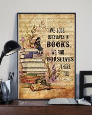 Librarian We Find Ourselves In Books Poster 11x17 Poster lifestyle-poster-2