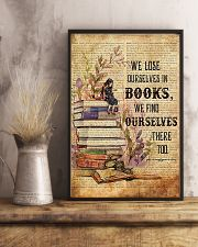 Librarian We Find Ourselves In Books Poster 11x17 Poster lifestyle-poster-3