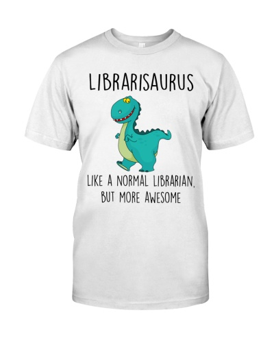 Librarisaurus More Awesome
