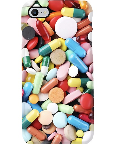 Pharmacist Colorful Pills