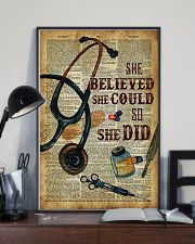 Medical Assistant - She believed she could  11x17 Poster lifestyle-poster-2