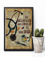 Medical Assistant - She believed she could  11x17 Poster lifestyle-poster-8