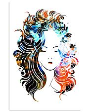 Beautiful Girl Hairdresser 11x17 Poster front
