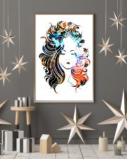 Beautiful Girl Hairdresser 11x17 Poster lifestyle-holiday-poster-1